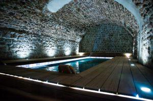 Piscine en bois d'exception Modern Pool © Bureau photographique Lausanne